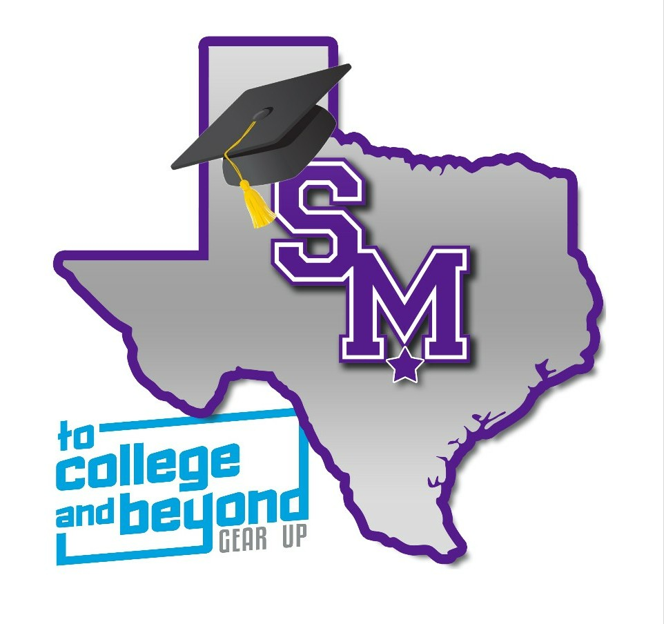 San Marcos GEAR UP logo To College and Beyond