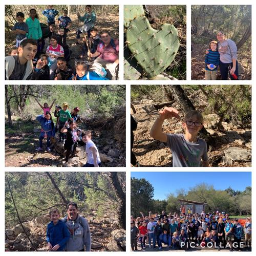 Learning on the Trails - Crockett 4th Graders