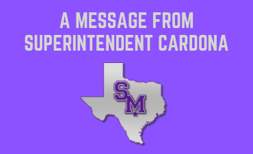 A message from Superintendent Cardona