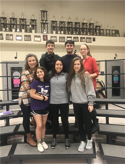 SMHS Area Choir Students Selected as Texas All-State Musicians