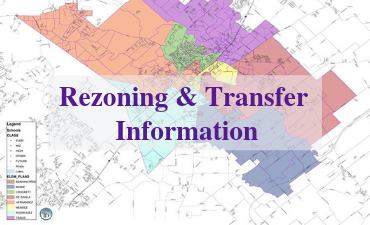 Rezoning and Transfer Information: Maps, Dates and Applications