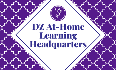 DZ at home learning headquarters