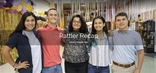 Rattler Recap - Week of Oct. 21