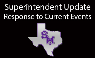 Superintendent Update - Response to Current Events