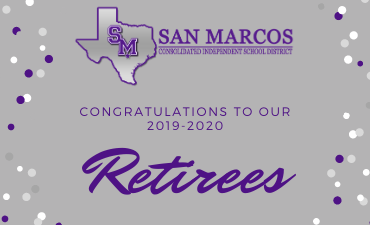 Congratulations to our 2019 - 2020 retirees