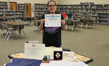 Miller's Addison Odam named finalist in 2018 Texas History Essay Contest