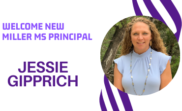 Welcome new Miller MS Principal Jessie Gipprich