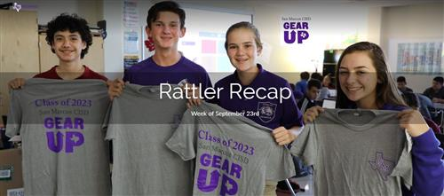 Rattler Recap - Week of Sept. 23