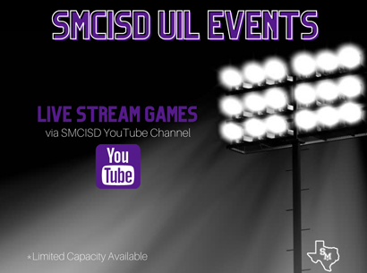 SMCISD to Live Stream UIL Events
