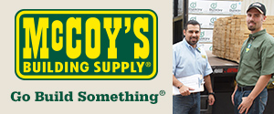 McCoy's Building Supply. Go Build Something